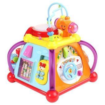 Huile Toys กล่องกิจกรรม 6 ด้าน Little Joy Box