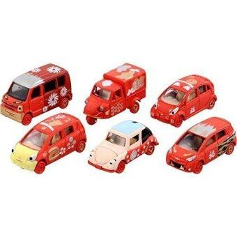 Tomica New Year Set Of 6 Cars (RED)