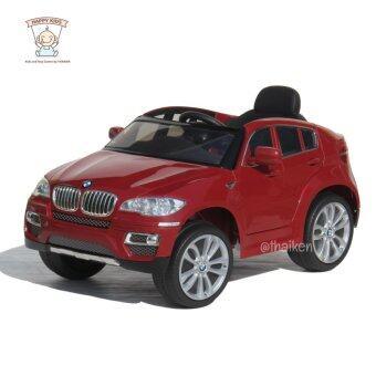 BMW รถเก๋งเด็กไฟฟ้า รุ่น BMW X6 (Licensed) Red