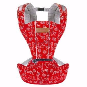 Hot Selling Multi-Fuctional Breathable Baby Carriers Shoulders Backpack-Red