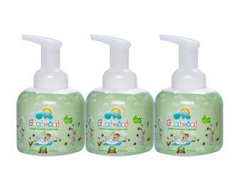 Good mood Shampoo and Body Foam Wash (Giggle Apple) 250 ml. - Set 3 bottles