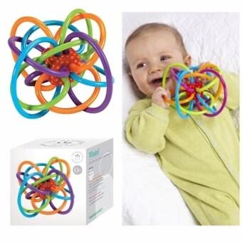 Manhattan Toy ของเล่น ยางกัด Winkel จากแบรนด์ Manhattan Toy ช่วยให้หยิบจับได้อย่างคล่องแคล่ว (image 0)
