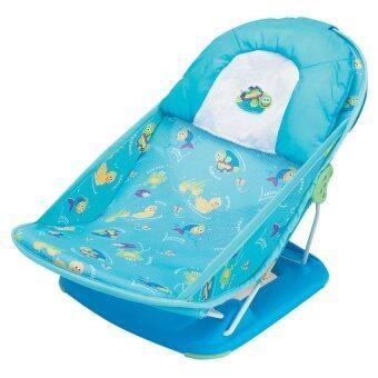 ที่รองอาบน้ำ Summer – รุ่น Mother's Touch Deluxe Baby Bather สีฟ้า