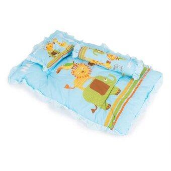 Natur ที่นอนปิคนิค ลายสัตว์ (สีฟ้า)
