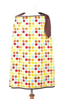 GLOWY Nursing Cover (Rainbow Drop) ผ้าคลุมให้นม โกลวี่ (ลายจุด)