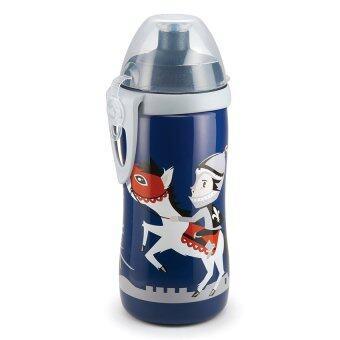 NUK ถ้วยหัดดื่ม แบบจุกดึง 300ml. (ลายเจ้าชาย)