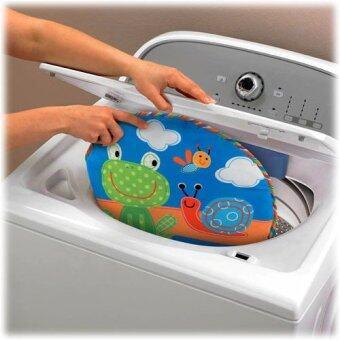 smartbabyandkid เปลโยก-สั่น ibaby Infant-to-toddler Rocker ลายกบสีฟ้า (image 3)