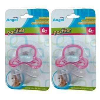 Angel Stony Pacifier 6+ months แองเจิล สโตนี่ จุกนมหลอก (2 ชิ้น)