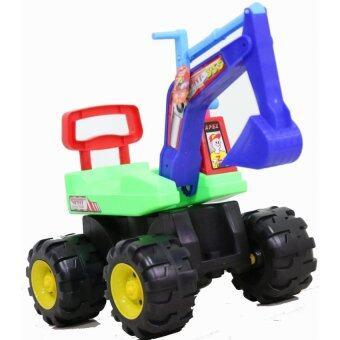 Apex Toys รถแม็คโครจัมโบ้เด็กนั่ง (สีเขียว)