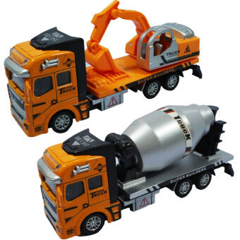 BKL TOY โมเดลรถ รถของเล่น รถก่อสร้าง2คัน 2211-TW