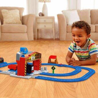 Thomas & Friends? Motorized Railway Diesel's Lift & Shift Set