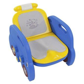 Baby Q Baby Toilet & Champoo - Blue/Yellow