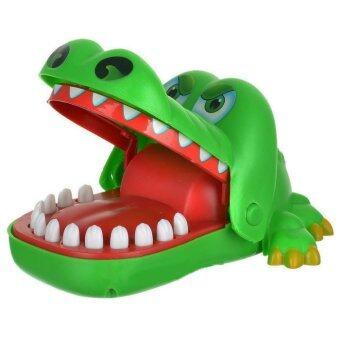 หมอฟันตรวจฟันจระเข้จอมงับ (จรเข้งับนิ้ว) Crocodile Dentist