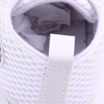 Eozy Kids shoes Baby Sneakers Prewalker Mesh Toddler Breathable First Walker Boys Girls Shoe (White) (image 3)