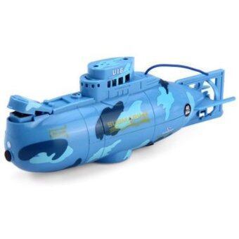 Babybear Submarine Tourism 3311 เรือดำน้ำไฟฟ้าบังคับวิทยุ (สีฟ้า)