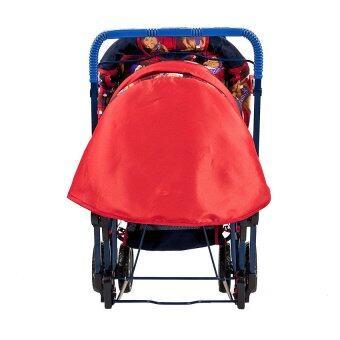 รถเข็นเด็ก Family Mate สีแดง พร้อมของเล่น (image 1)