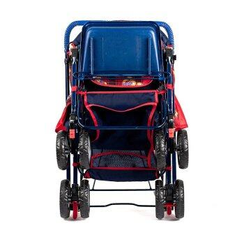 รถเข็นเด็ก Family Mate สีแดง พร้อมของเล่น (image 2)