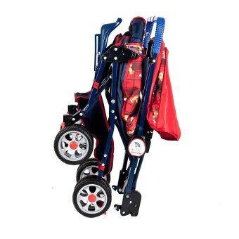 รถเข็นเด็ก Family Mate สีแดง พร้อมของเล่น (image 3)