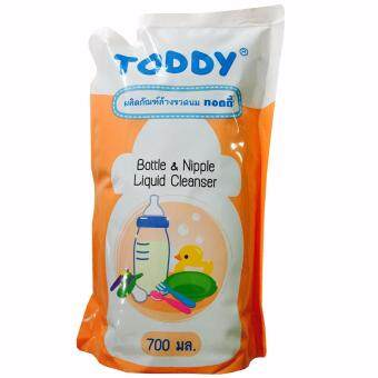Toddy Baby น้ำยาล้างขวดนม ชนิดเติม 700 ml. (1 ถุง)