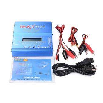 iMAX B6AC Digital LCD อะเดปเตอร์ชาร์จแบตเตอรี่ LiPo NiMh NiCd LiFe Li-ion Battery Balance Discharger Charger Power Adapter