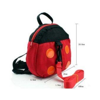 New MumBaby กระเป๋าเป้จูงเด็กเต่าทอง (สีแดง)