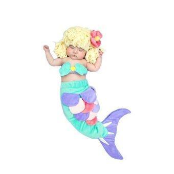 BabyGaga ชุดแฟนซี เด็กทารก เงือกน้อย Little Mermaid Fancy Costume