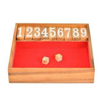 Ama-Wood ของเล่นไม้ปิดกล่อง Shut The Box - ใหญ่