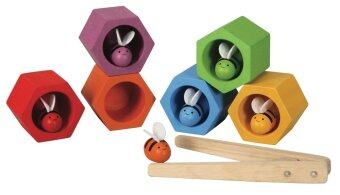 PlanToys ของเล่นไม้ Beehives บ้านผึ้งน้อย