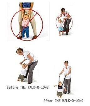 สายช่วยหัดเดินเด็ก (สีน้ำเงิน) (image 2)