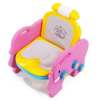 Baby Q Baby Toilet & Champoo (Pink/Yellow)