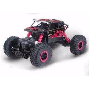 รถบังคับไต่ภูเขา Rock Crawler 4WD 2.4ghz (Red)