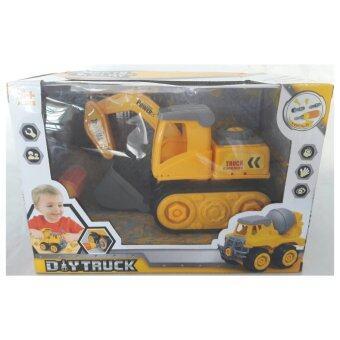 Baby Station ของเล่นเสริมทักษะ DIY Truck ชุดซ่อมรถขุดดิน