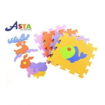 Asta FL - 05 โฟมปูพื้นชุดการ์ตูนสัตว์ - สลับสี (image 2)