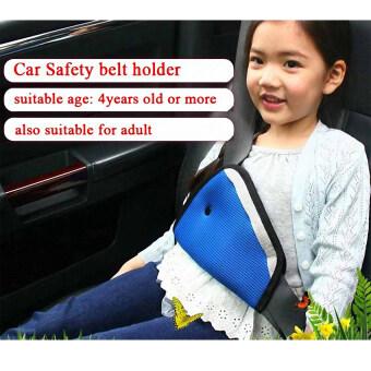 AA ที่ปรับระดับเข็มขัดนิรภัย สำหรับเด็ก รุ่น : Safety Belt Adjust (เข็มขัดนิรภัยรถยนต์สำหรับเด็ก) Blue