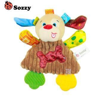 ตุ๊กตายางกัดเสริมพัฒนาการ น้องหมาน้อย รุ่นใหม่ Sozzy