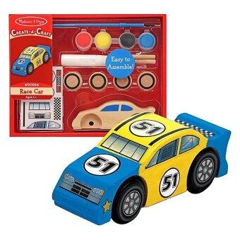 Melissa and Doug Race Car DIY ชุดตกแต่งรถแข่ง (image 1)