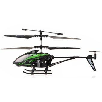 3.5 Channel Infrared Remote Control RC Helicopter with Gyro Green