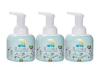 Good mood Shampoo and Body Foam Wash (Merry Berry) 250 ml. - Set 3 bottles