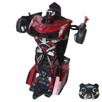 Uni รถบังคับวิทยุ รถบังคับดริฟ รถบังคับไฟฟ้า รถบังคับ หุ่นยนต์ แปลงร่าง เก๋ง (แดง/ดำ)