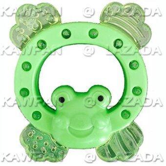 Attoon ยางกัดรูปกบ สำหรับเด็ก 1เดือนขึ้นไป (สีเขียว)