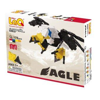 LaQ Animal World Eagle สำหรับเด็กผู้ชาย - กล่องสีขาวดำ