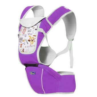Hot Selling Multi-Fuctional Baby Carriers Shoulders Backpack With Numbers-Purple