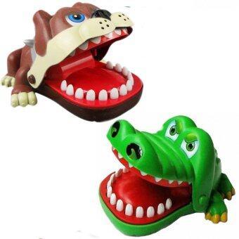 MOMMA เกมส์ จระเข้ งับนิ้ว ปะทะ น้องหมา บลูด๊อก ขี้โมโห จอมงับนิ้ว (Crocodile Dentist & Angry Bulldog Dentist)