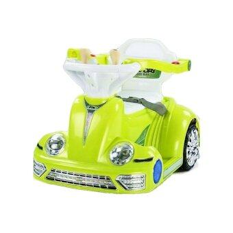 BB TOYS รถแบตหอยทาก บังคับรีโมท สีเขียว