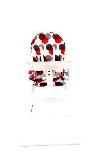 Happy Baby เก้าอี้ทานข้าว รุ่น Multi Circle - Red