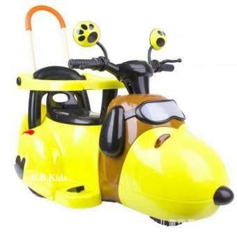 ฺB.B.Kids Snoopy Car ( Yellow )