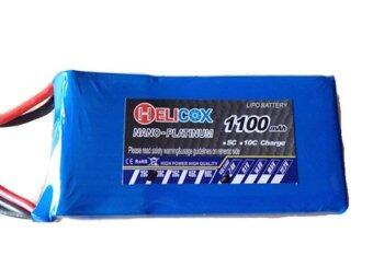 Babybearonline Battery Helicox 1100 mah 7.4 Volt 30 C
