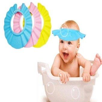 G2G หมวกกันแชมพูสระผมเด็กปรับระดับได้ 4 ระดับ สีชมพู (image 1)