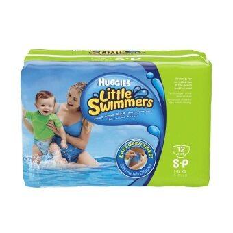 กางเกงผ้าอ้อมว่ายน้ำ Huggies Little Swimmers Size S