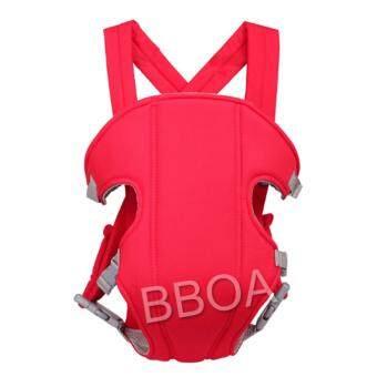 BB Shop เป้อุ้มเด็ก เป้สะพายเด็ก เป้อุ้มทารก เป้อุ้ม Baby Carrier รุ่นขายดี สีแดง จัดส่งฟรี